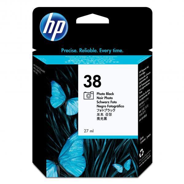 HP originální ink C9413A, No.38, photo black, HP Photosmart Pro B9180