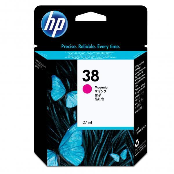 HP originální ink C9416A, No.38, magenta, HP Photosmart Pro B9180