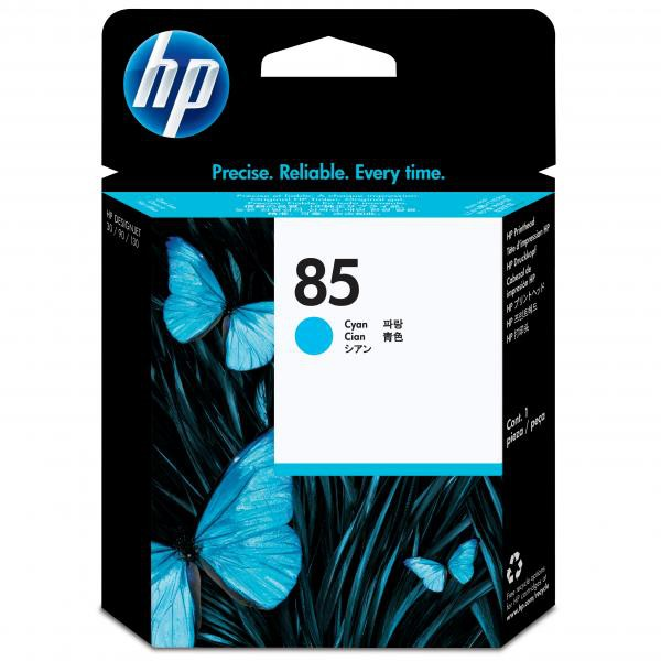 HP originální tisková hlava C9420A, No.85, cyan, HP DesignJet 30, N, DesignJet 130, NR