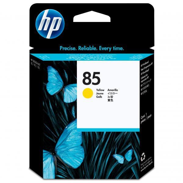 HP originální tisková hlava C9422A, No.85, yellow, HP DesignJet 30, N, DesignJet 130, NR