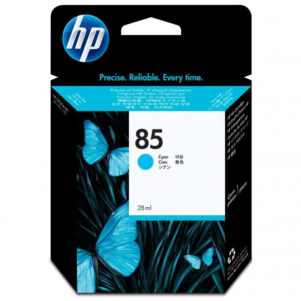 HP originální ink C9425A, No.85, cyan, 28ml, HP DesignJet 30, N, GP, DesignJet 130, NR, GP