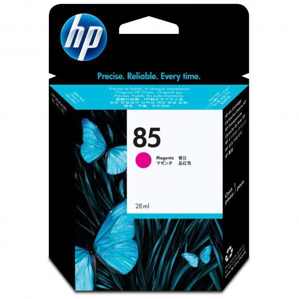 HP originální ink C9426A, No.85, magenta, 28ml, HP DesignJet 30, N, GP, DesignJet 130, NR, GP