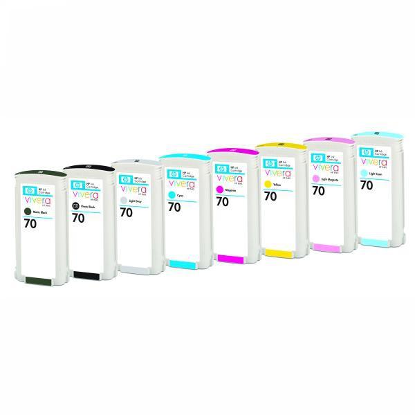 HP originální ink C9450A, No.70, grey, 130ml, HP Designjet Z3100, Z2100