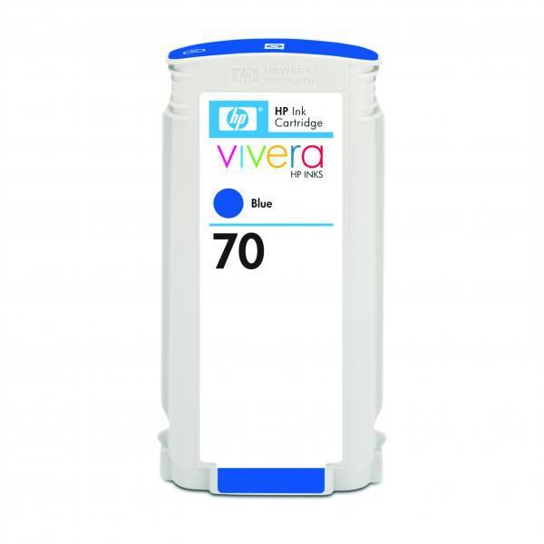 HP originální ink C9458A, No.70, blue, 130ml, HP Designjet Z3100