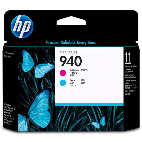 HP originální tisková hlava C4901A, No.940, cyan/magenta, HP Officejet