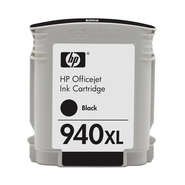 HP originální ink C4906A, No.940XL, black, 2000str., 49ml, HP Officejet Pro 8000, Pro 8500