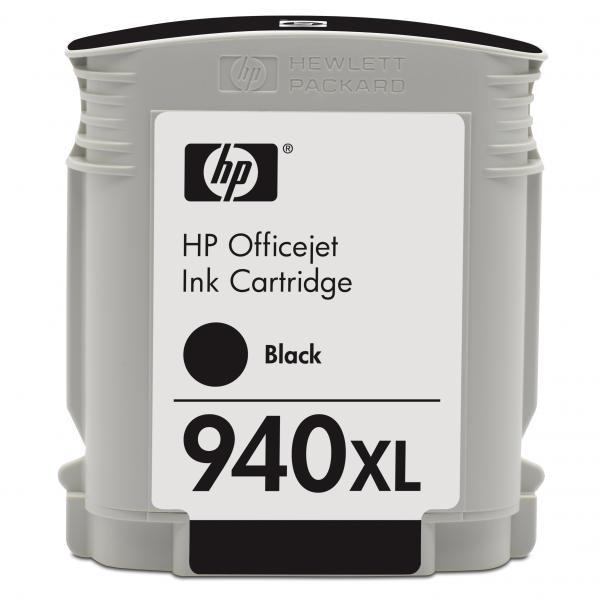 HP originální ink blistr, C4906AE#301, No.940XL, black, HP Officejet Pro 8000, Pro 8500