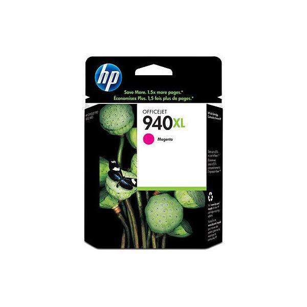 HP originální ink C4908AE, No.940XL, magenta, HP Officejet Pro 8000, Pro 8500
