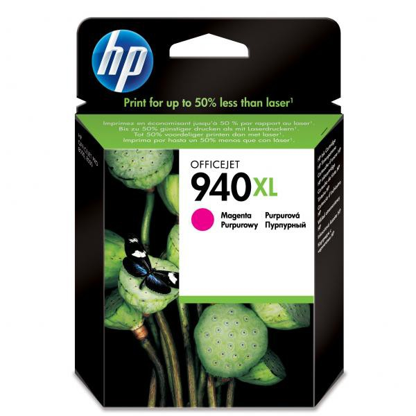 HP originální ink blistr, C4908AE#301, No.940XL, magenta, 1400str., 16ml, HP Officejet Pro 8000, Pro 8500