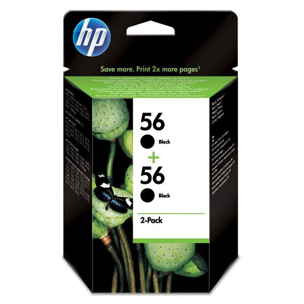 HP originální ink blistr, C9502AE#241, black, 900 (2x450)str., 2x19ml, HP 2-Pack, C6656AE, DeskJet 450, 5652, 5150, psc-7150