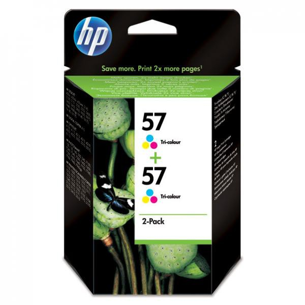 HP originální ink blistr, C9503AE#241, color, 800 (2x400)str., 2x17ml, HP 2-Pack, C6657AE, DeskJet 450, 5652, psc-7150