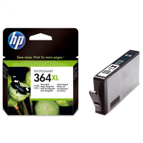 HP originální ink CB322EE, No.364XL, photo black, 290str., HP Photosmart B8550, C5380, D5460