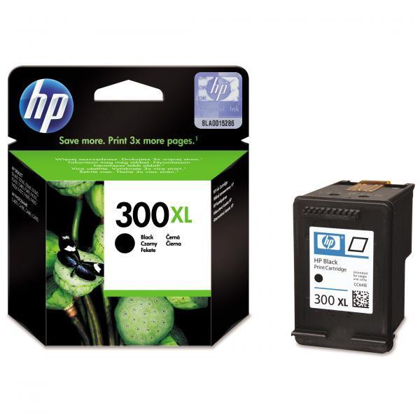 HP originální ink CC641EE, No.300XL, black, 600str., 12ml, HP DeskJet D2560, F4280, F4500