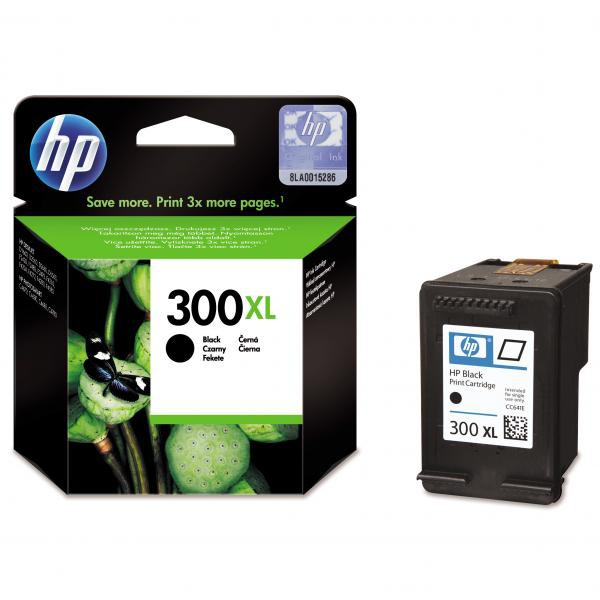 HP originální ink blistr, CC641EE#301, No.300XL, black, 600str., 12ml, HP DeskJet D2560, F4280, F4500