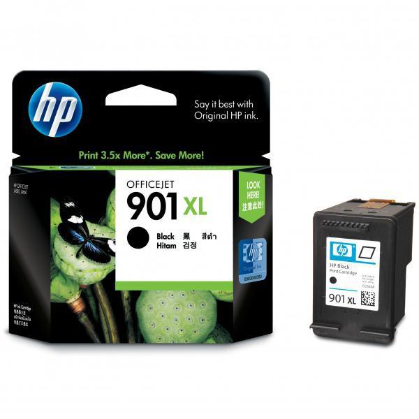 HP originální ink CC654AE#UUQ, No.901XL, black, 700str., 14ml, HP OfficeJet J4580