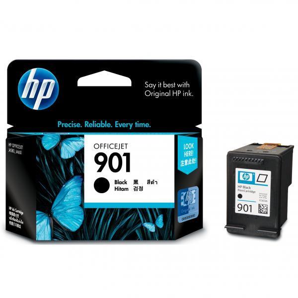 HP originální ink blistr, CC653AE#231, No.901, black, 200str., 4ml, HP OfficeJet J4580