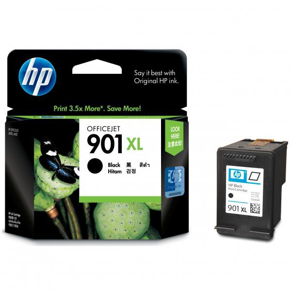 HP originální ink blistr, CC654AE#301, No.901XL, black, 700str., 14ml, HP OfficeJet J4580