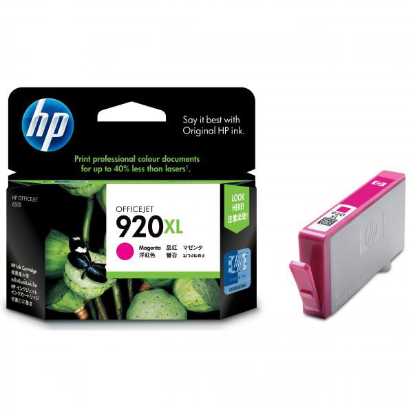 HP originální ink blistr, CD973AE#301, No.920XL, magenta, 700str., HP Officejet