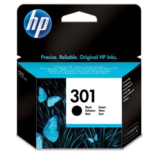 HP originální ink CH561EE, No.301, black, 190str., HP Deskjet 1000, 1050, 2050, 3000, 3050