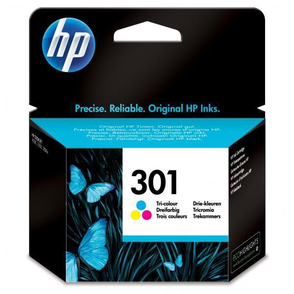HP CH562EE - originální cartridge HP 301, barevná, 6ml