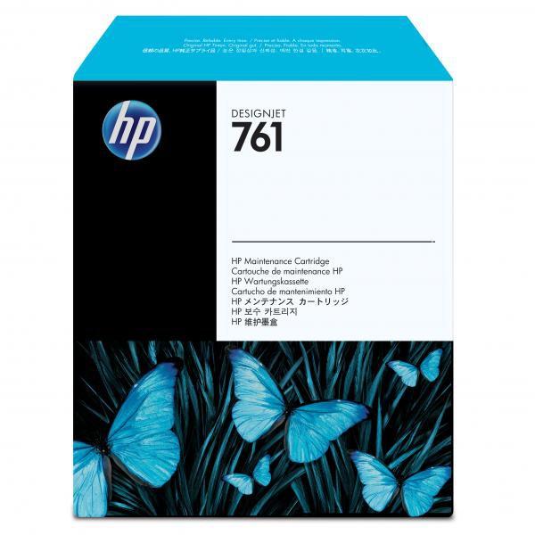 HP originální maintenance cartridge CH649A, No.761, HP Designjet T7100, k čištění tiskových hlav