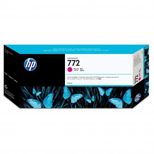 HP originální ink CN629A, magenta, 300ml, HP 772, HP