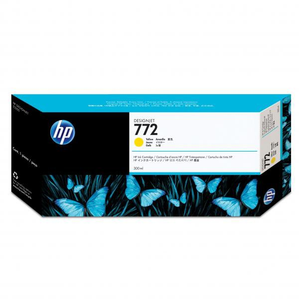 HP originální ink CN630A, yellow, 300ml, HP 772, HP