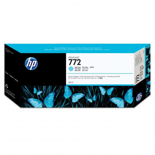 HP originální ink CN632A, cyan, 300ml, HP 772, HP