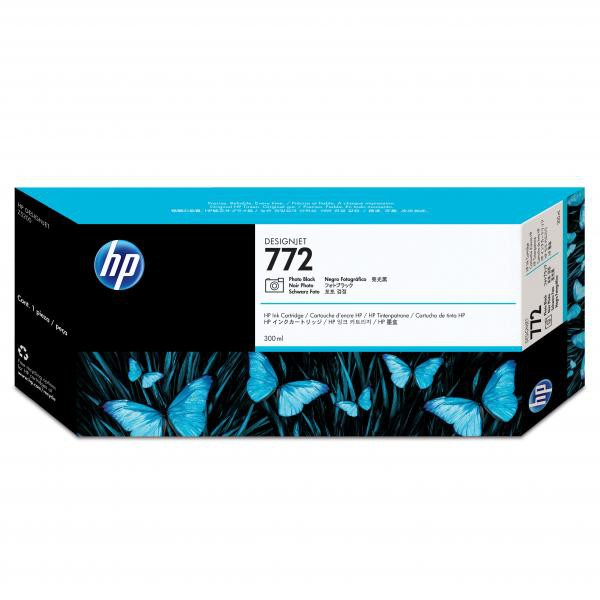 HP originální ink CN633A, photo black, 300ml, HP 772, HP