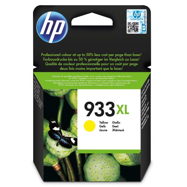 HP originální ink blistr, CN056AE#301, No.933XL, yellow, HP