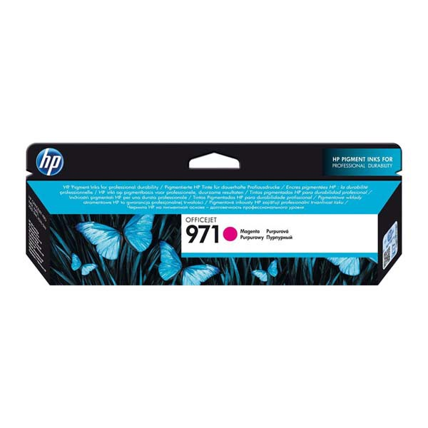 HP originální ink CN623AE, magenta, 2500str., No.971, HP Officejet Pro X451dn, X451dw, X476dn MFP, X476dw