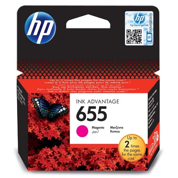HP originální ink blistr, CZ111AE#302, No.655, magenta, 600str., HP Deskjet Ink Advantage 3525, 5525, 6525, 4615 e-AiO