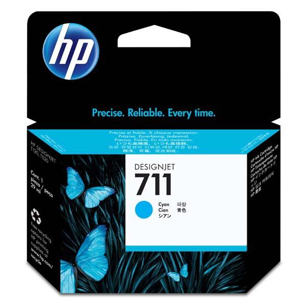 HP originální ink CZ130A, No.711, cyan, 29ml, HP DesignJet T120, T520