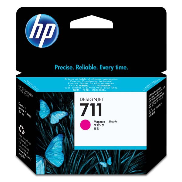 HP originální ink CZ131A, No.711, magenta, 29ml, HP DesignJet T120, T520
