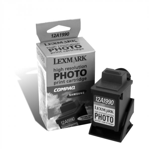 Lexmark originální ink 12A1990E, #90, photo, 450str., Lexmark Z43, Z53, Z32, Z42, Z51, Z52, 3200, 5000, 7000