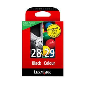 Lexmark originální ink 18C1520E, #28+29, black/color, Lexmark Z845, P350, Z1300, Z1320