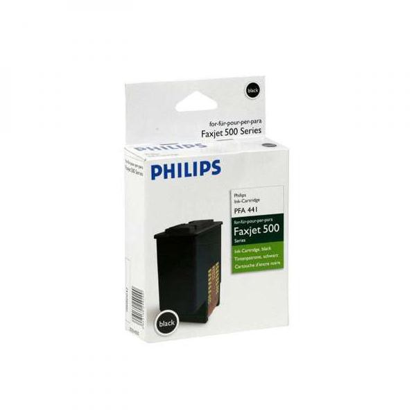 Philips originální ink PFA 441, black, 440str., 253014355, Philips Faxjet 520, 525, 555