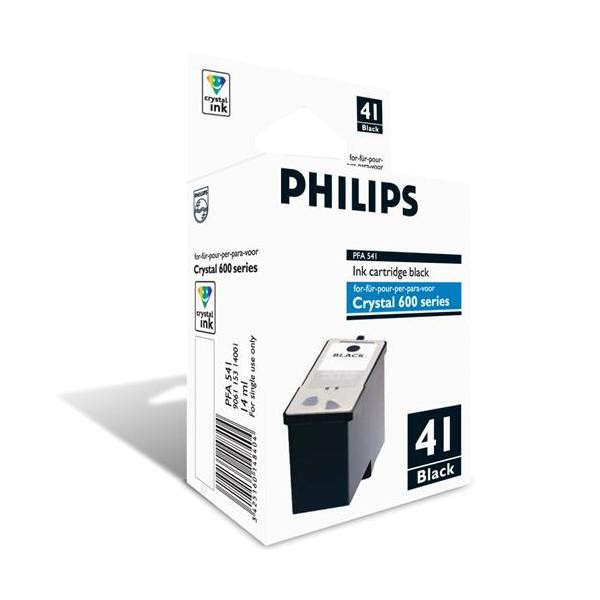 Philips originální ink PFA 541, black, 500str., Philips Crystal 650, 660, 665