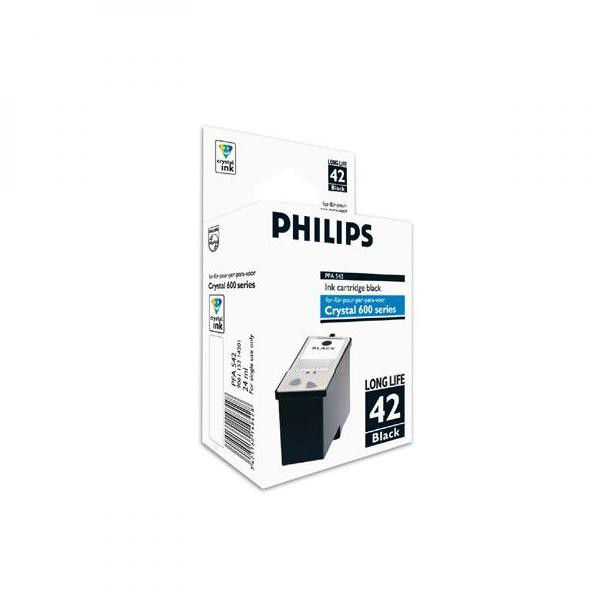 Philips originální ink PFA 542, black, 950str., Philips Crystal 650, 660, 665