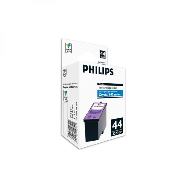 Philips originální ink PFA 544, color, 500str., 11,5ml, typ 44, Philips 650, 660, 665