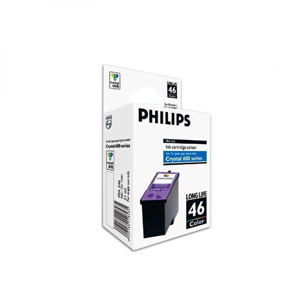 Philips originální ink PFA 546, color, 1000str., high capacity, Philips Crystal 650, 660, 665, 680