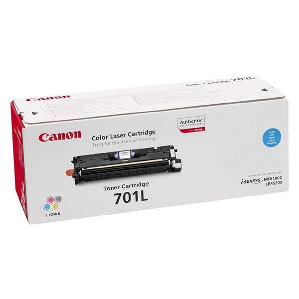 Canon originální toner EP701, cyan, 2000str., 9290A003, Canon LBP-5200, Base MF-8180c