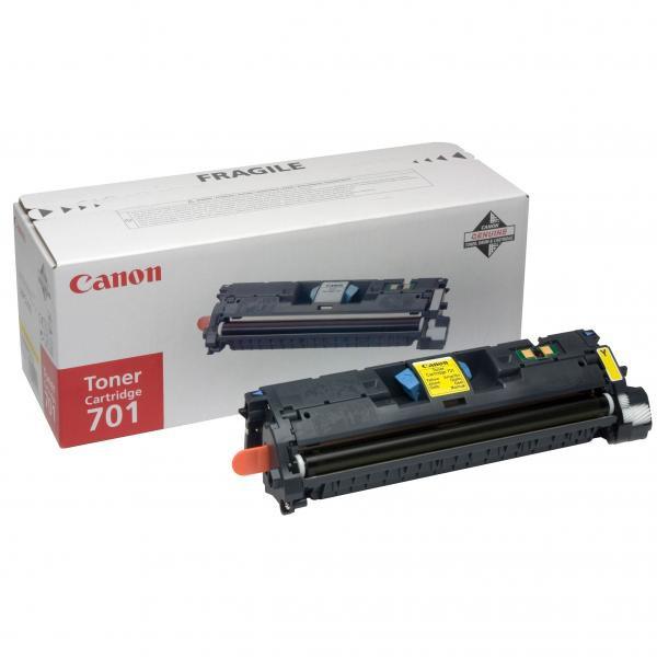Canon originální toner EP701, yellow, 2000str., 9288A003, Canon LBP-5200, Base MF-8180c