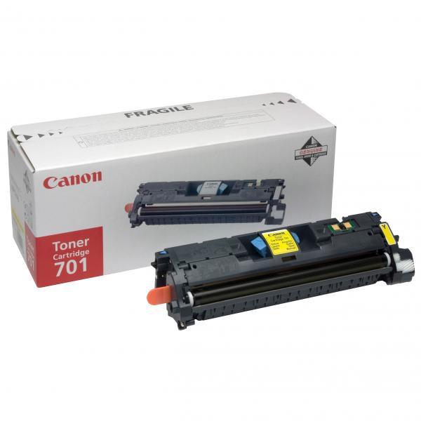 Canon originální toner EP701, yellow, 4000str., 9284A003, Canon LBP-5200, Base MF-8180c