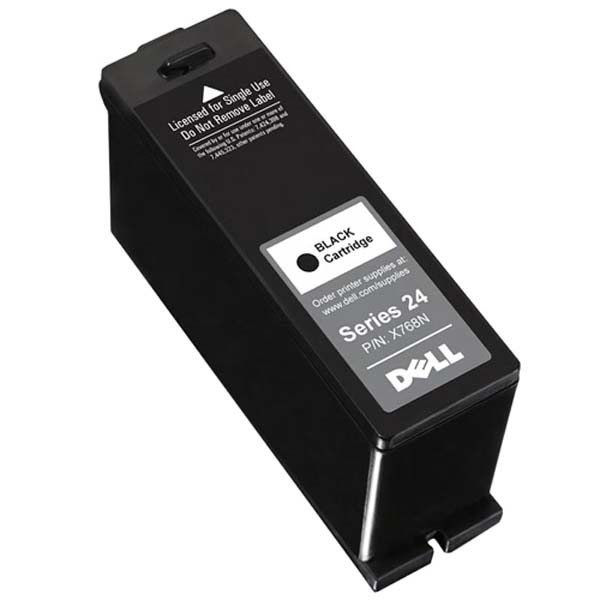 Dell originální ink 592-11295, 592-11343, X768N, black, high capacity, Dell V715