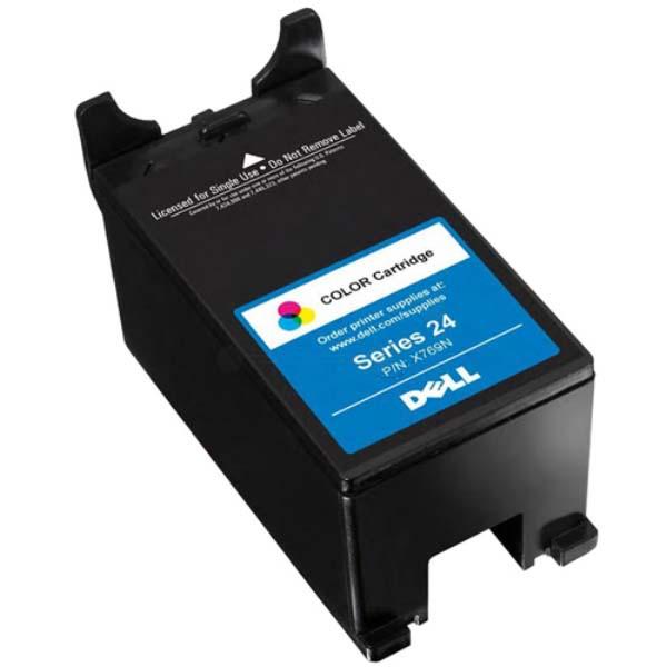 Dell originální ink 592-11297, 592-11345, X769N, color, high capacity, Dell V715
