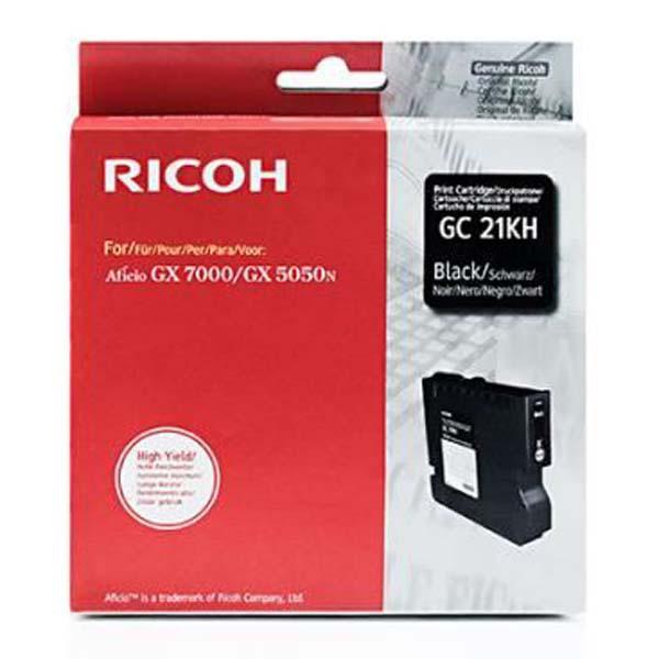 Ricoh originální gelová náplň 405536, black, 3000str., typ GC-21HK, Ricoh GX3000, 3050N, 5050N