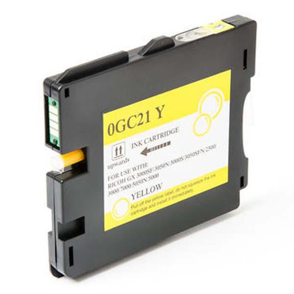 Ricoh originální gelová náplň 405539, yellow, 2300str., typ GC-21HY, Ricoh GX3000, 3050N, 5050N