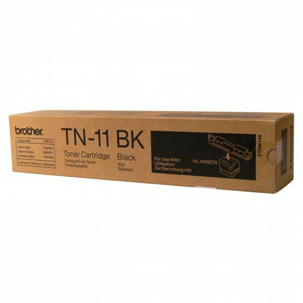 Brother originální toner TN11BK, black, 8500str., Brother HL-4000CN