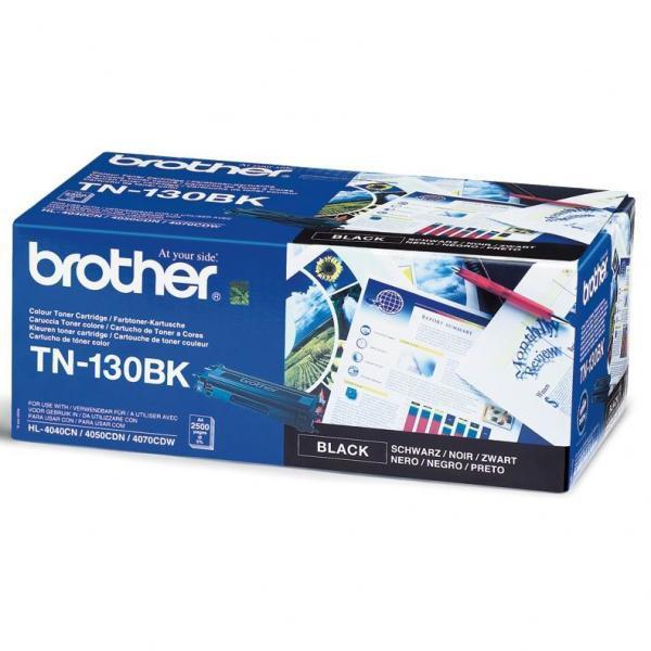Brother originální toner TN130BK, black, 2500str., Brother HL-4040CN, 4050CDN, DCP-9040CN, 9045CDN, MFC-9440C